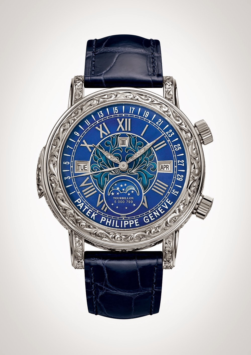 Height of horology patek philippe sky moon tourbillon ref 6002g for Patek philippe