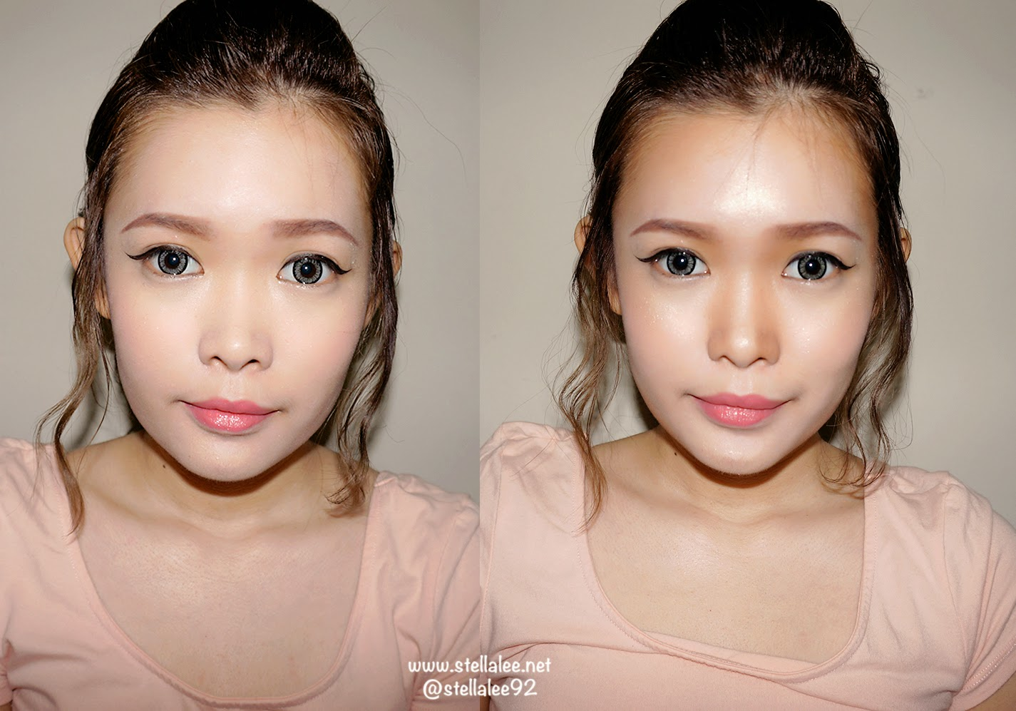 Plastic surgery without surgery make up tutorial stella lee can tell my face looks much much slimmer and my face looks healthier and proportional thanks to contouring i look like i lost 5 kgs as well wtf lol baditri Gallery