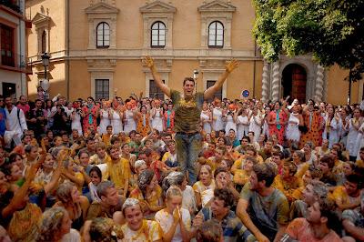 University of Granada, Granada, Food, Student, Education, Faculty, Freshfer, Hazing, Medical,  Andalusia, Spain, Boy, Girl, University,