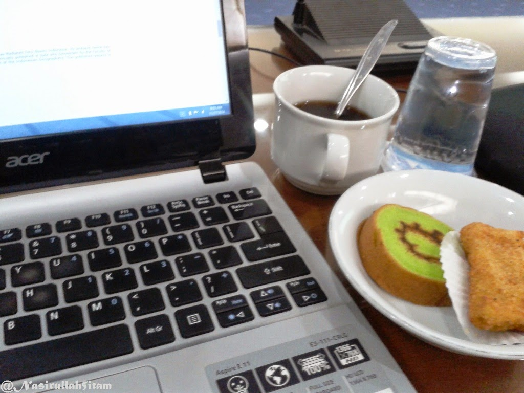 Coffe Break pagi, sebelum beraktifitas