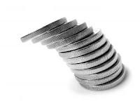 Monedas derrumbe