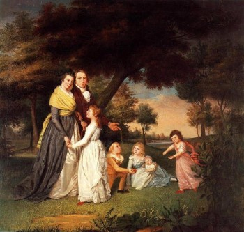 The Artist and His Family by James Peale (1795)