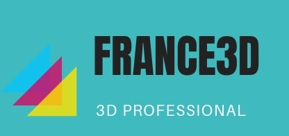 Hoa tươi đẹp France 3D