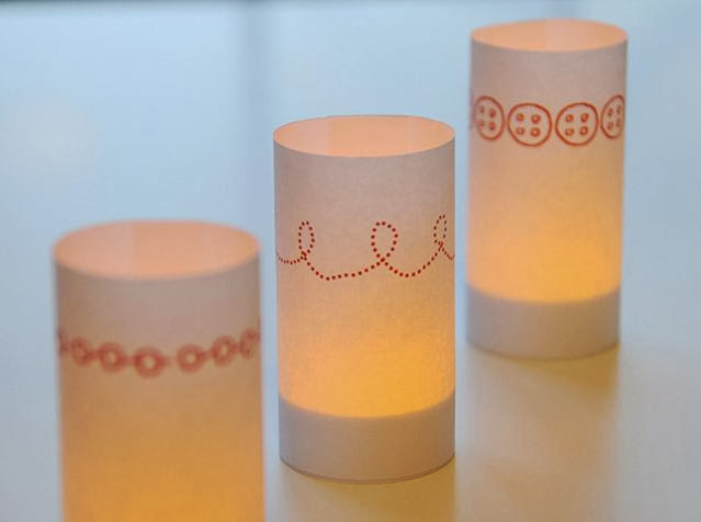 Paper Candle Wraps