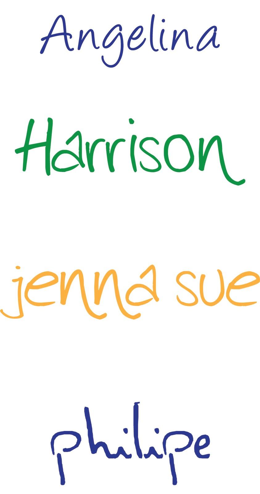 Short Stack Studio Friday Favorites Handwritten Fonts