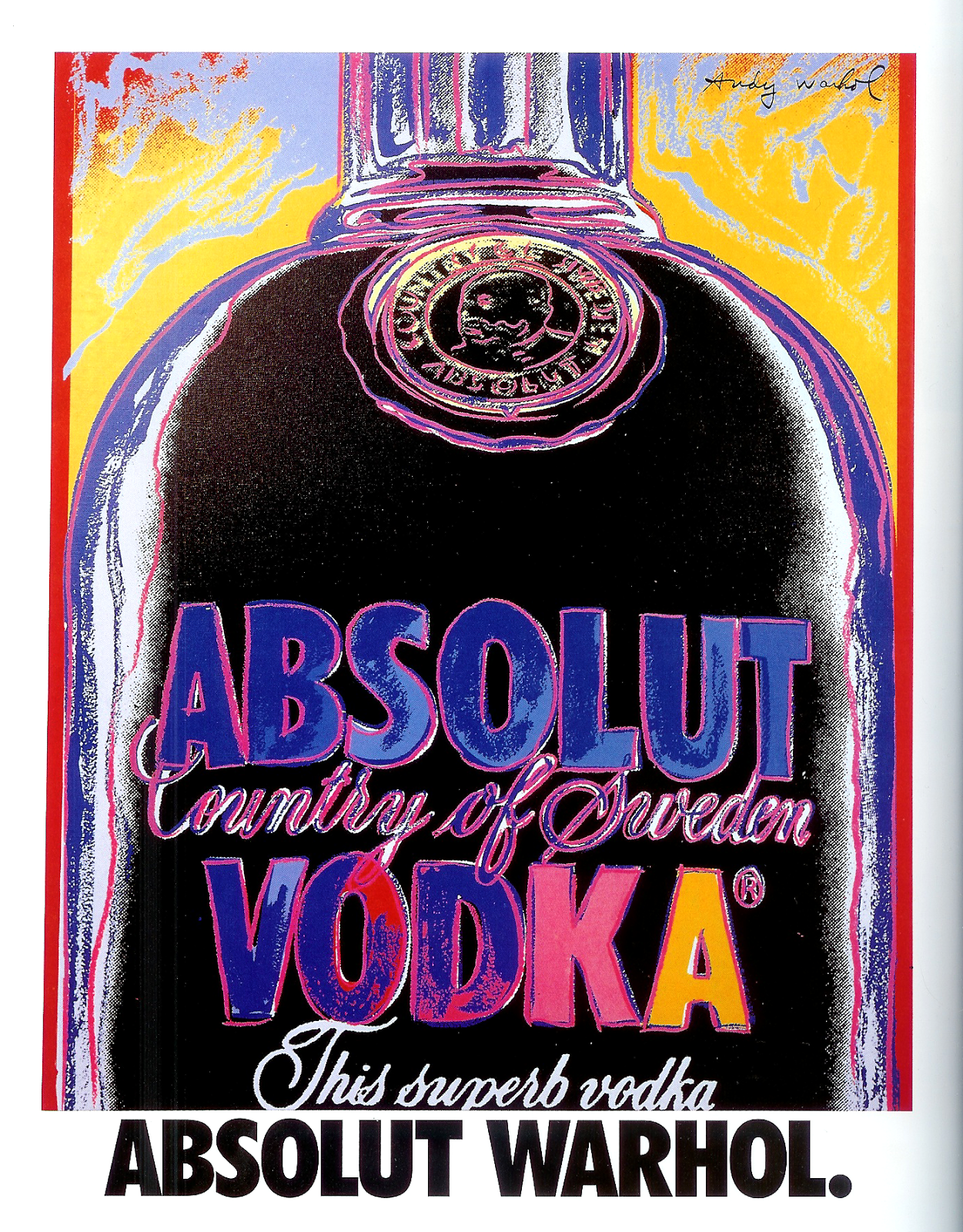 absolut vodka creating advertising history The story of one night: how absolut captured the history of the  after the agency won the vodka brand's  this article is about: world, absolut, advertising.