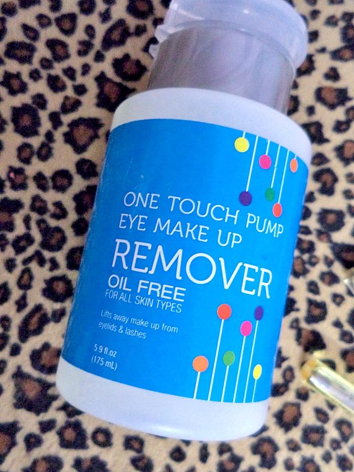 Paraben free eye makeup remover