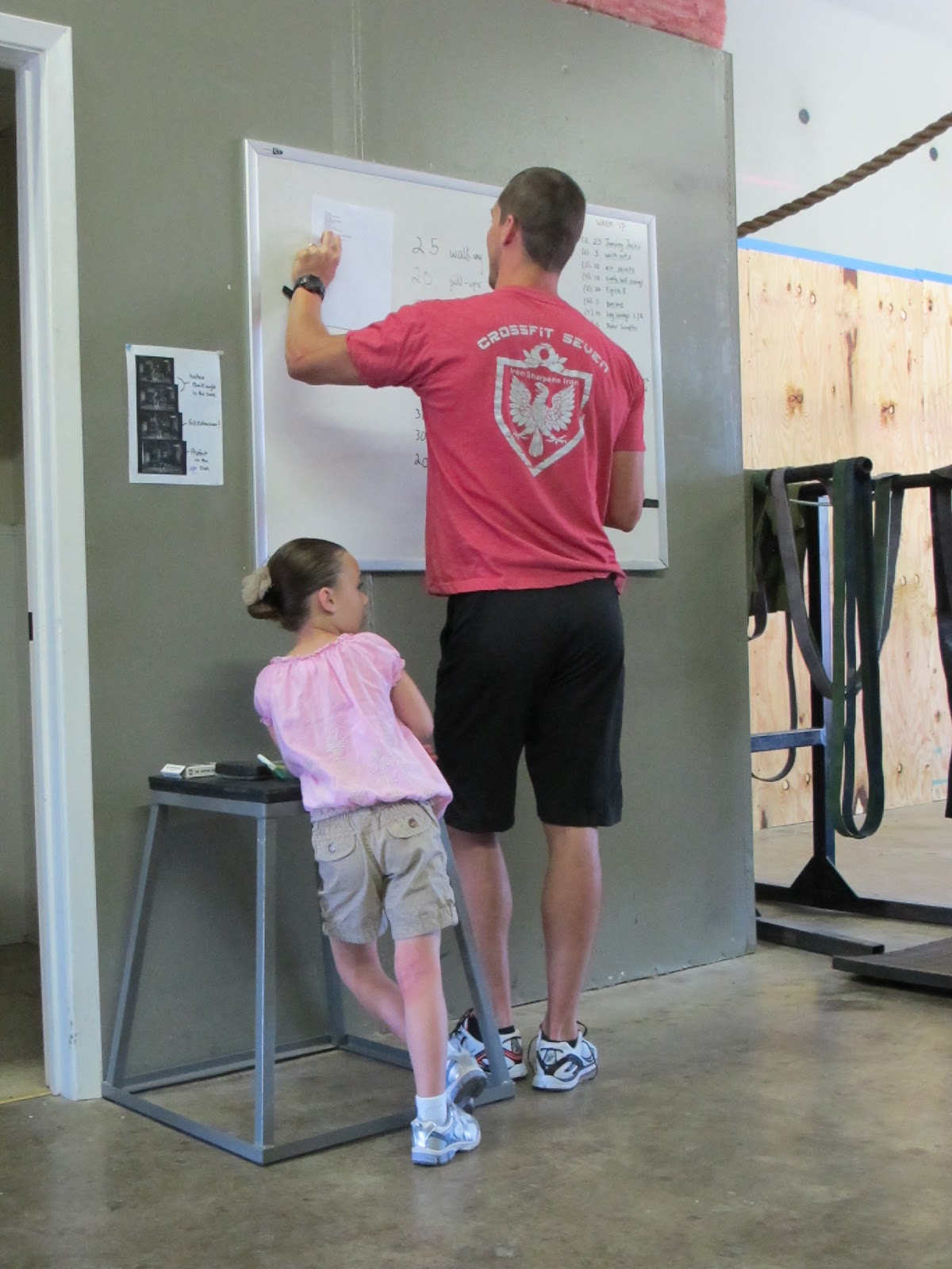 Brandt crossfit downtown fort worth - Ryan Shupe And Daughter Ella Figure Out The Wods At Crossfit Seven In Fort Worth Tx