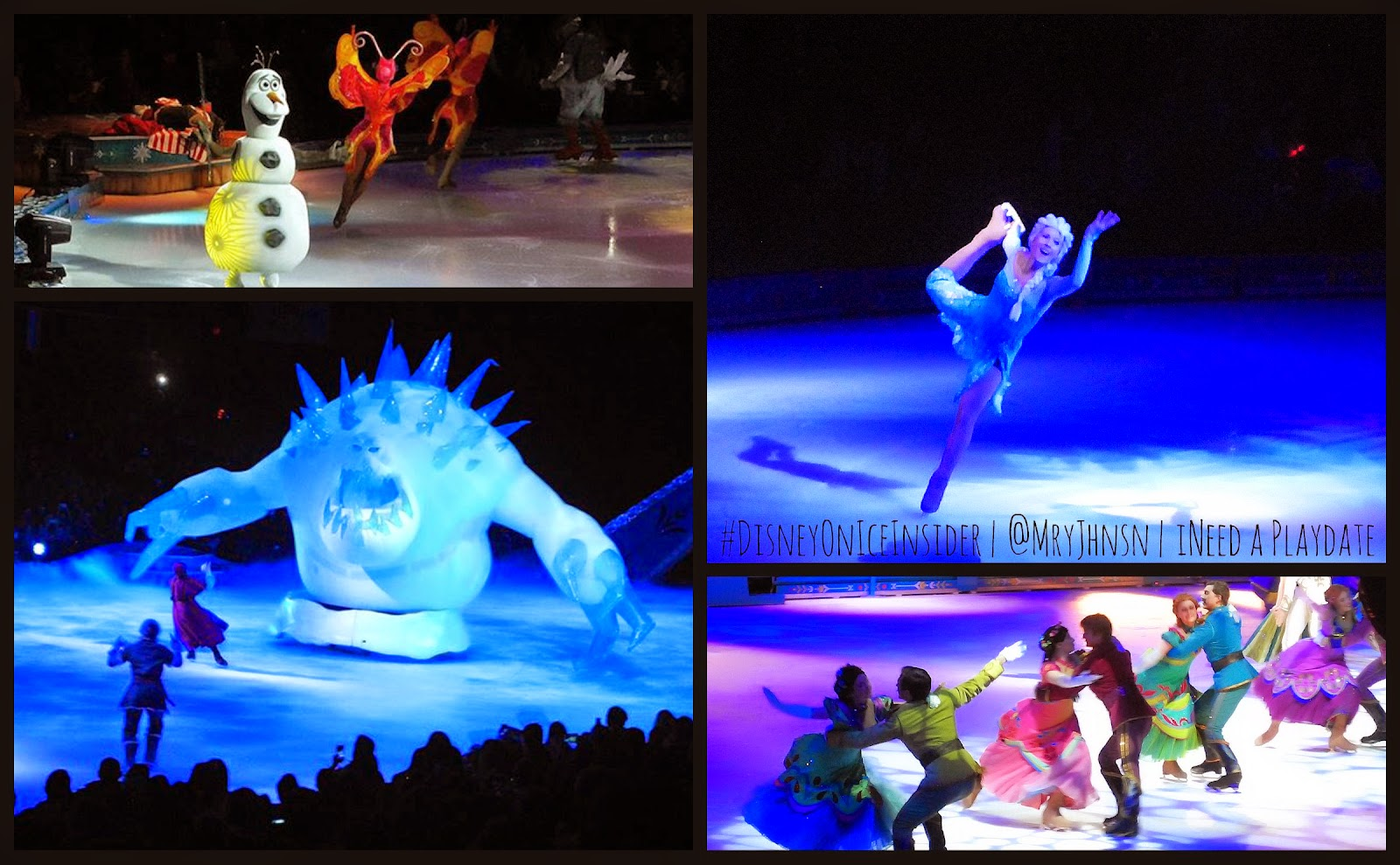 For The First Time in Forever, Disney on Ice's #Frozen is in Cleveland