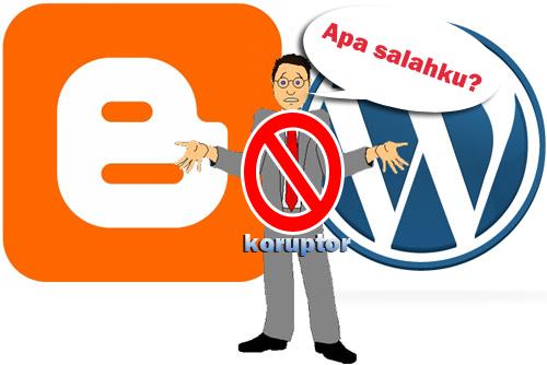 Lebih Baik Jadi Blogger Daripada Jadi Koruptor