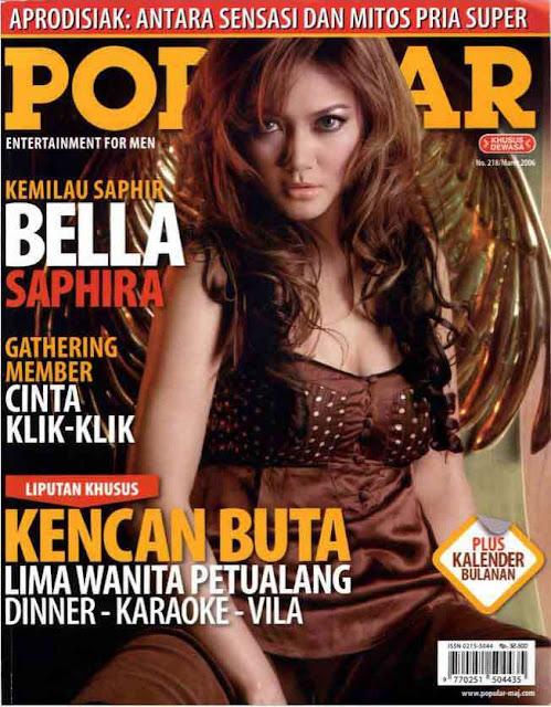 10 Artis Indonesia yang Ada di Majalah Dewasa