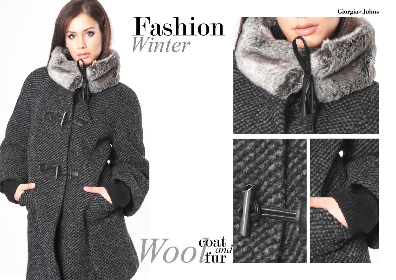 Piumino Moda Cappotto Collezione amp; Glamour Johns Giorgia Italia e AqBAw0r