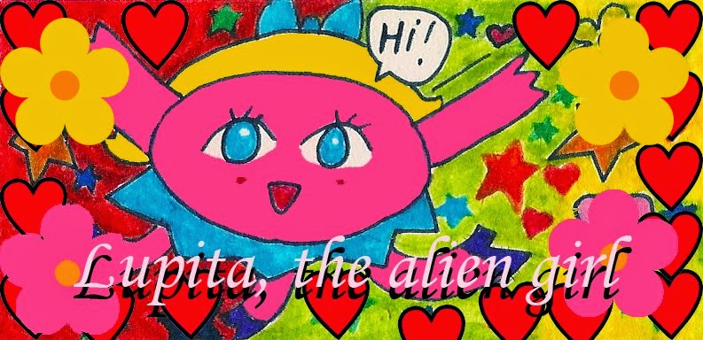 Lupita the Alien Girl
