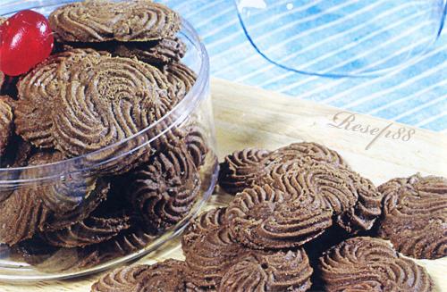 Kue Sagu Cokelat