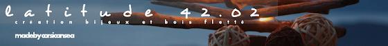 latitude 42.02 créations bijoux et bois flotté
