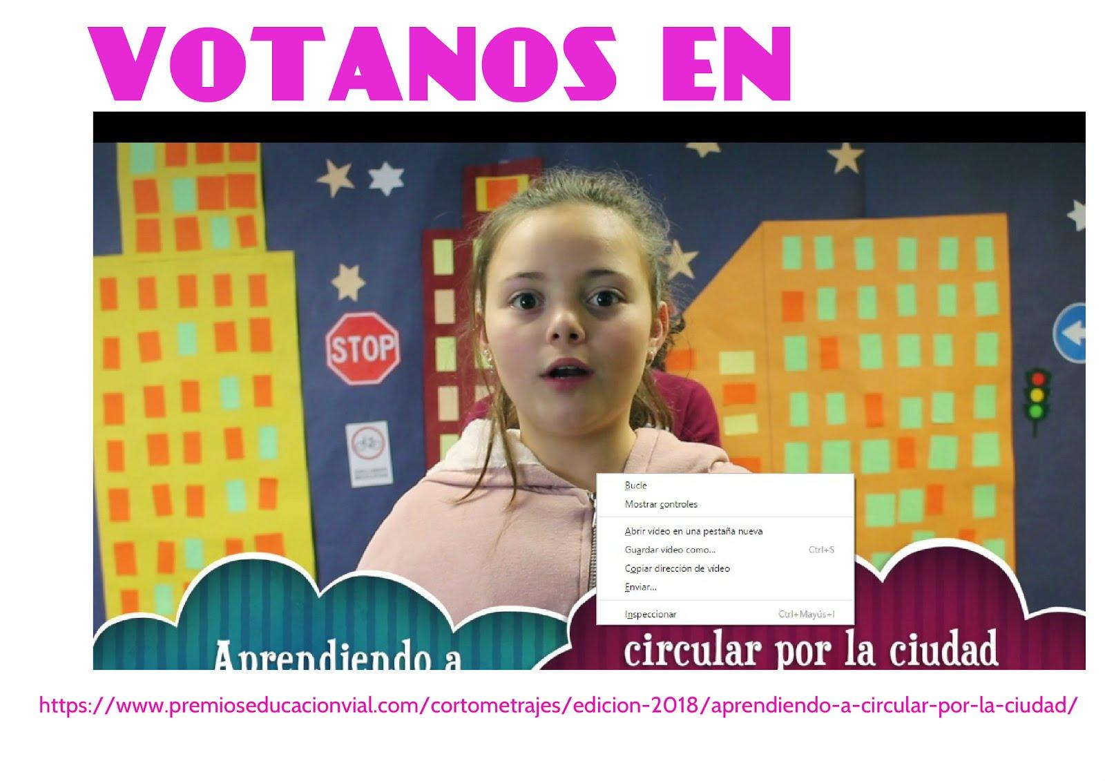 PREMIOS DE EDUCACION VIAL