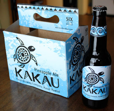 Kakau Hawaiian Pineapple Ale Second Draft