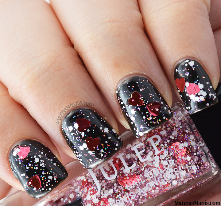 julep hartleigh, a heart glitter nail polish