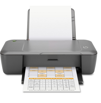 HP DeskJet 1000 Printer Driver Download