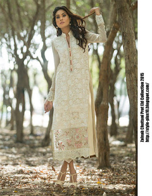 chiffon-embroidered-shirt-in-ivory-zainab-chottani-eid-pret-2015