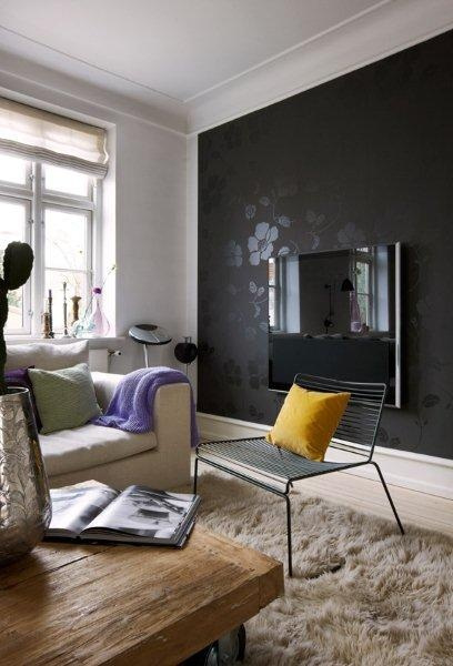 Sala De Tv Parede Preta ~ blog de decoração  Arquitrecos Paredes pretas vieram para ficar!