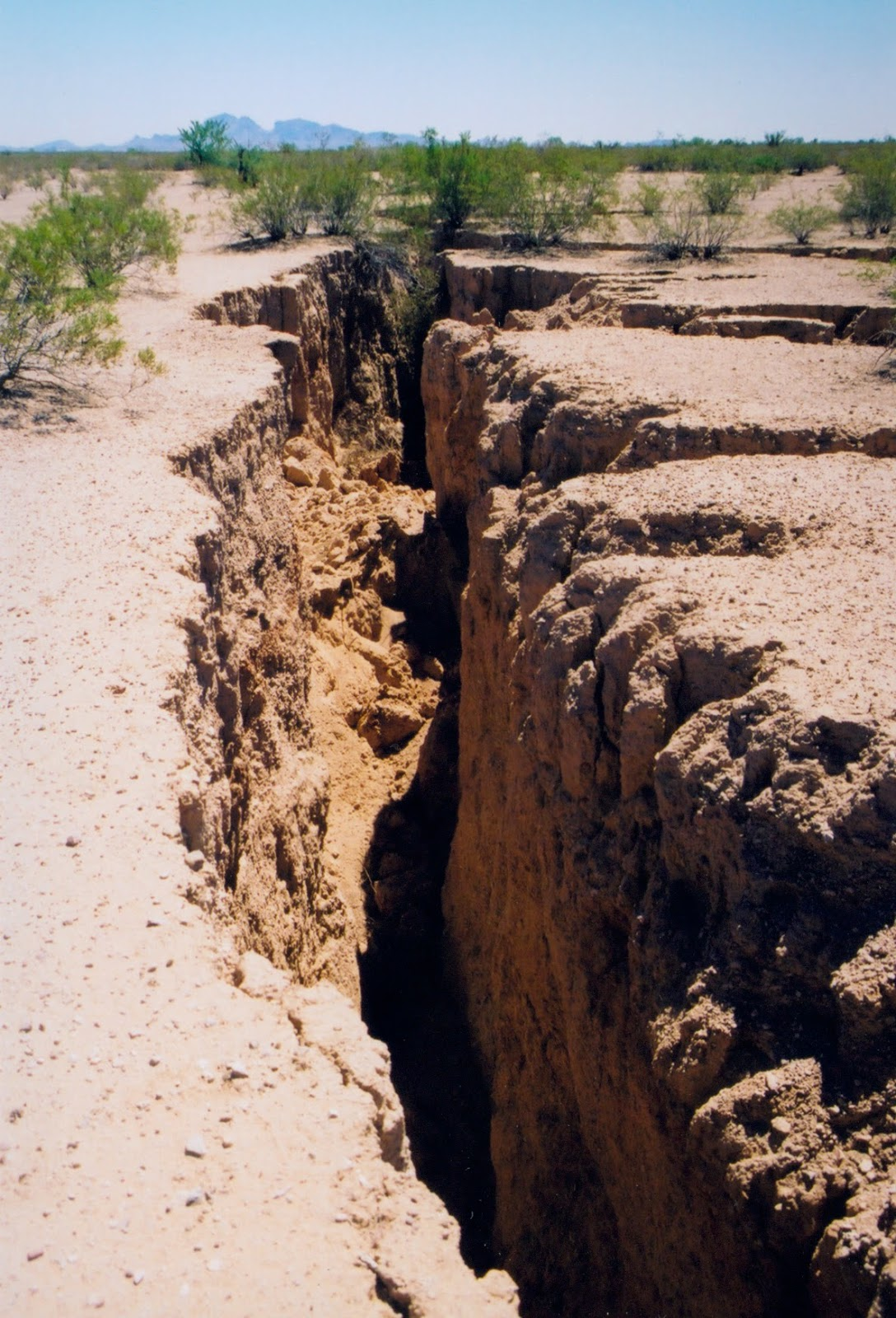 Arizona Geology: New and updated Earth Fissure maps released for ...