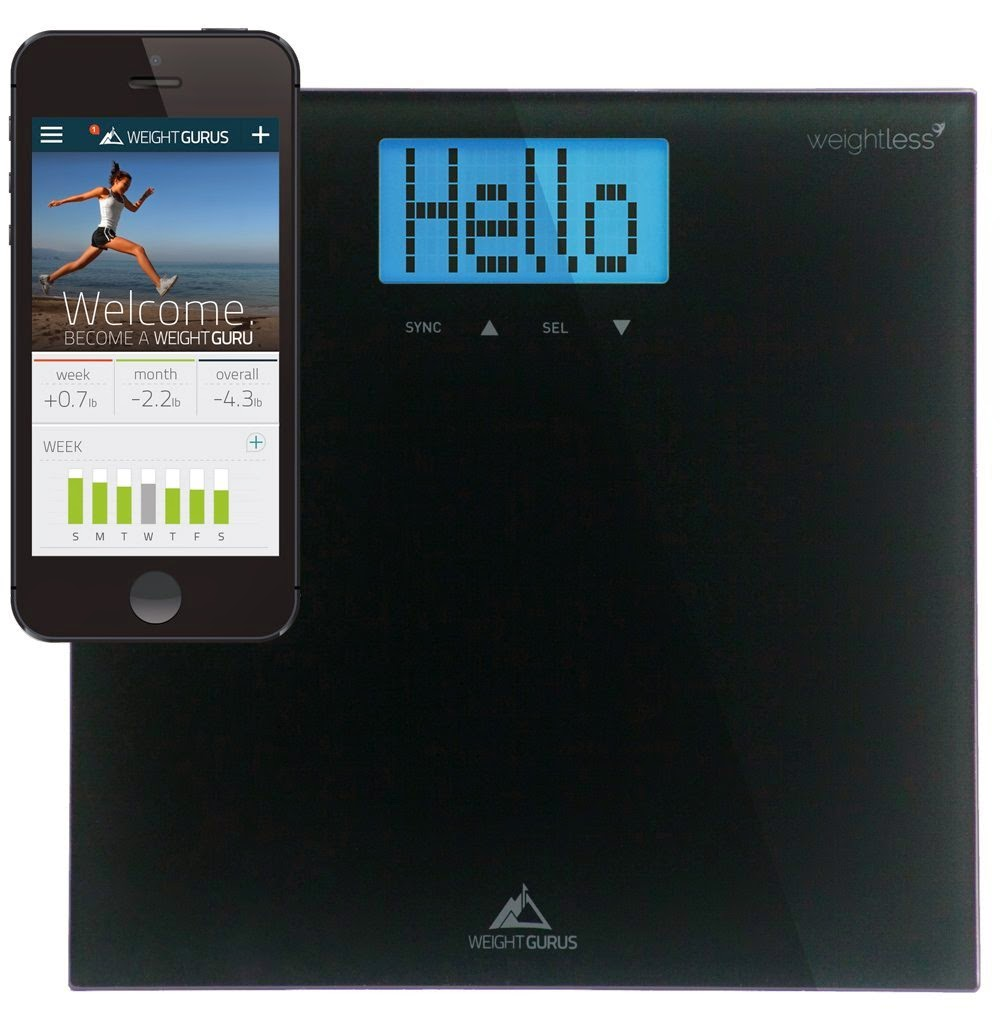 Weight Gurus Smartphone Connected Digital Scale
