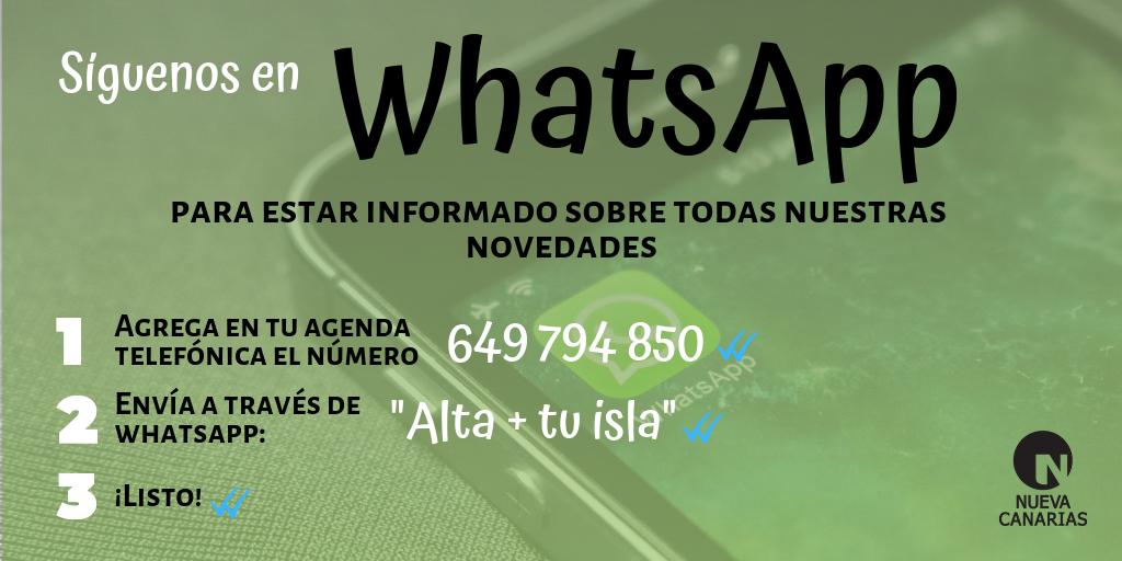 Nueva Canarias en Whatsapp