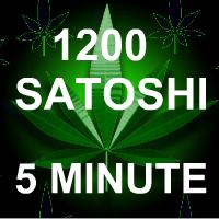 1200 Satoshi Every 5 Minutes