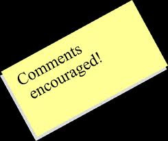 comments encourages