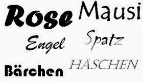 Kosenamen; Quelle: styleranking.de