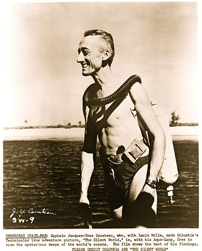 Us navy project genesis and jacques cousteau  project conshelf