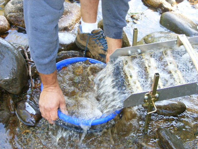 Byron maine is known for quot gold panning quot gold prospectors from all