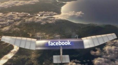 Facebook Ciptakan Drone Sebesar Pesawat Jumbo Jet