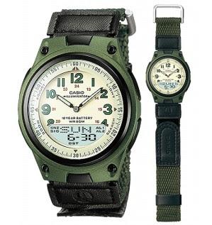 jam tangan casio aw 80v-3bv