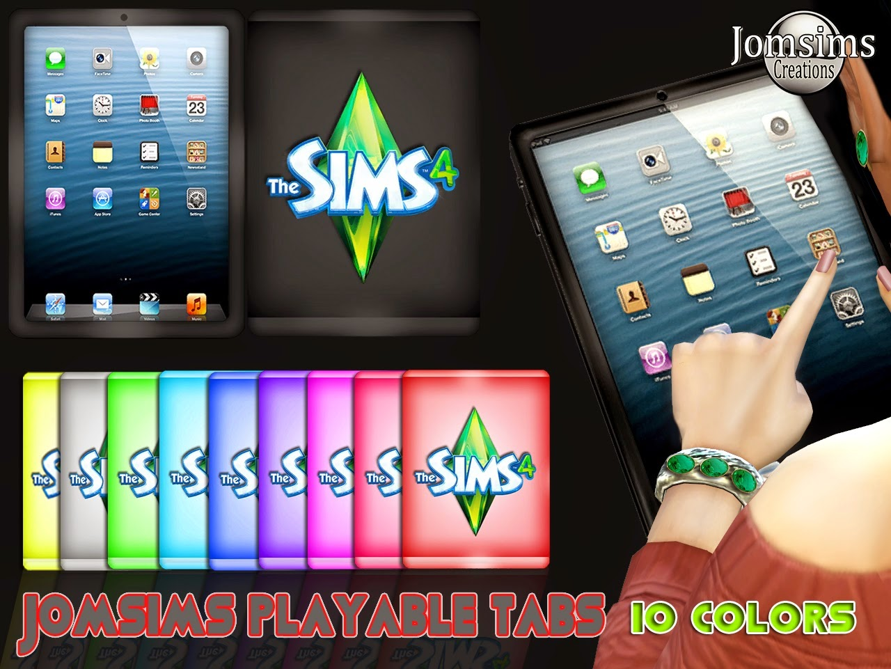 My Sims 4 Blog: Playable Sims 4 Tablets by JomSims