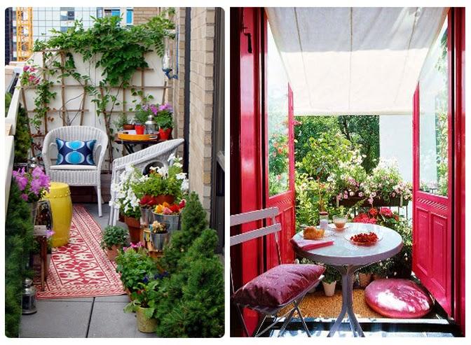 La maison 17 decoraci n interiorismo terrazas ii trucos for Accesorios para terrazas