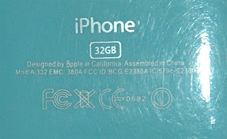 iPhone 5 knock-off: serial number