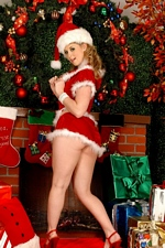 Meet Sunny Lane under the mistletoe and you'll get a lot more than a kiss!