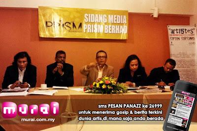 prism bhd, myipo, lesen untuk memungut royalti, badan persembahan awam, artis malaysia, berita, gambar, berita terkini, hiburan, selebriti