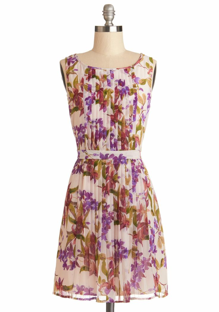 Gorgeous Floral Spring Dress