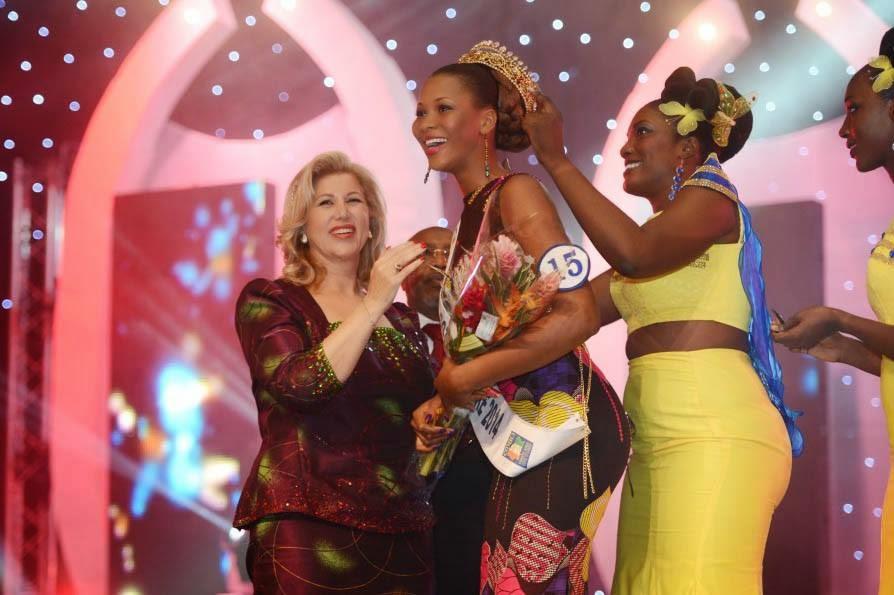 Miss Cote d'Ivoire 2014 winner Jennifer Kolo Yeo