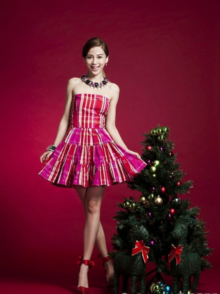 Christmas with Angelababy