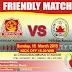 Friendly Match, Persak VS Persik Kendal