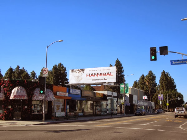 Hannibal season 2 billboard