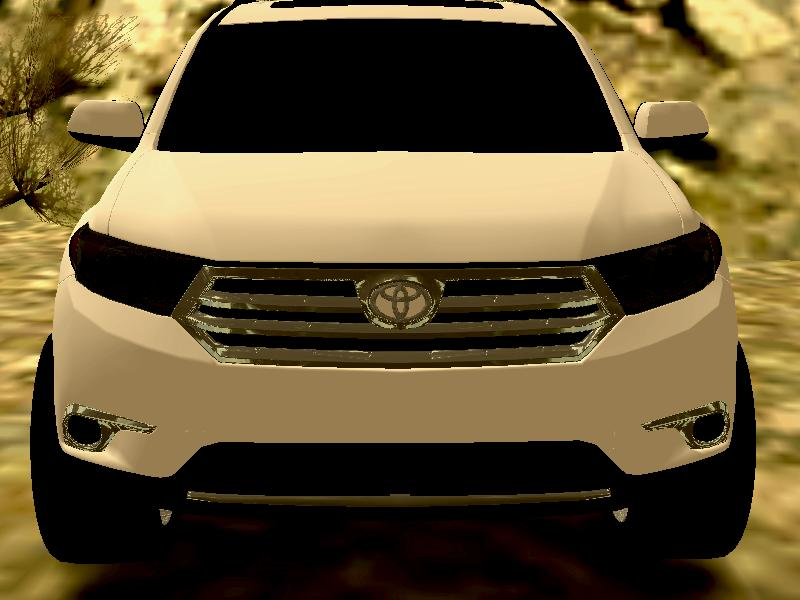 toyota highlander by monoantrax gta mods culiacan. Black Bedroom Furniture Sets. Home Design Ideas