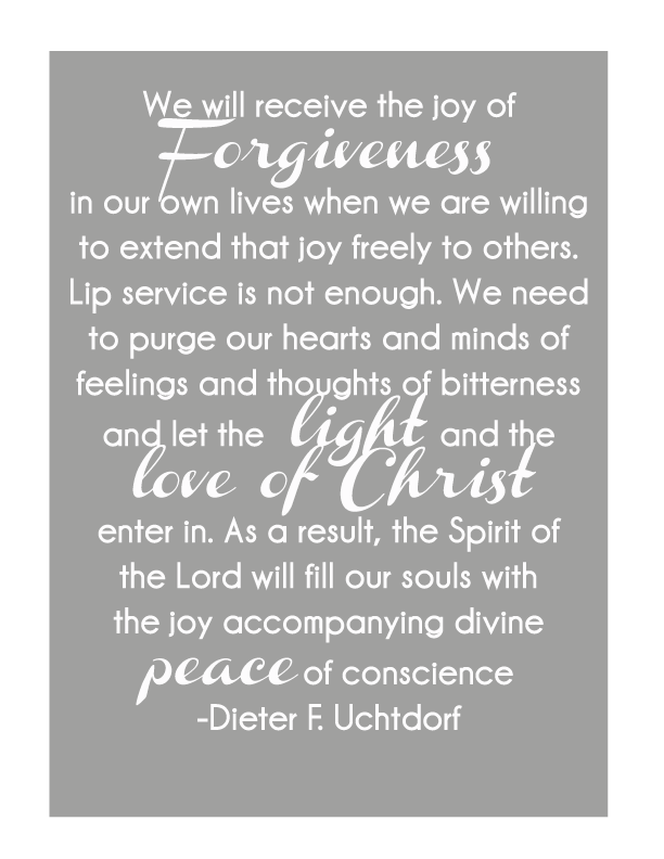 Printable Quote, Dieter F. Uchtdorf