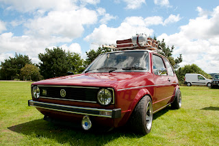 Old Skool Volkswagen Golf, Classic car