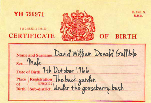 Family Lore: Fathers could be obliged to sign birth certificates