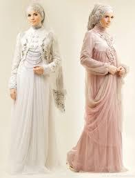 model baju pengantin muslimah yang syar'i